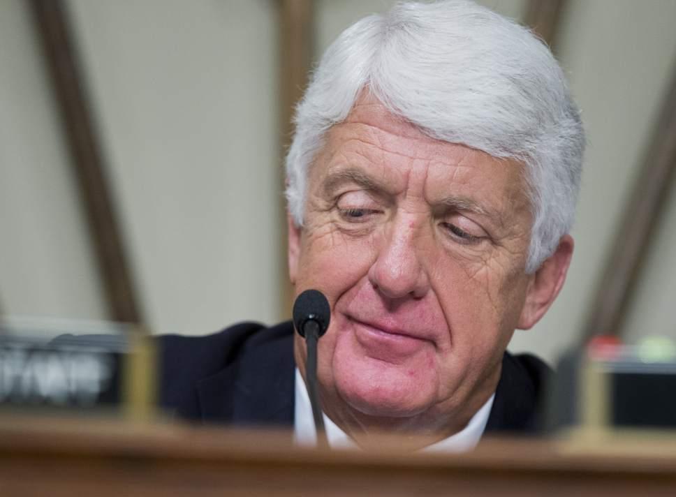 Manuel Balce Ceneta  |  AP file photo House Natural Resources Committee Chairman Rep. Rob Bishop, R-Utah.
