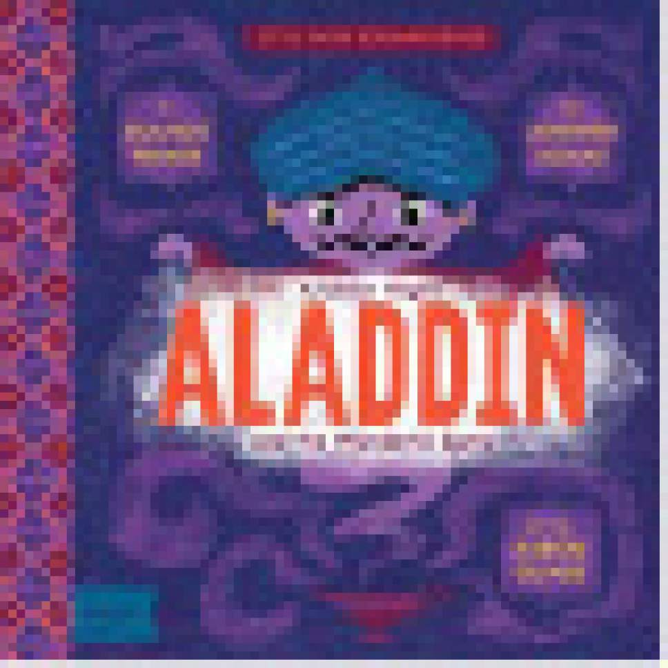 "|  Courtesy  Cover of ""Aladdin "" from Jennifer Adams' BabyLit series."