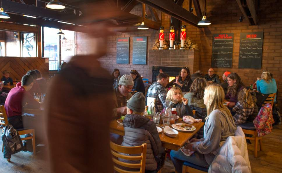 Leah Hogsten  |  The Salt Lake Tribune The Eating Establishment in Park City was recently purchased by the owners of Bar X and Beer Bar in Salt Lake City.