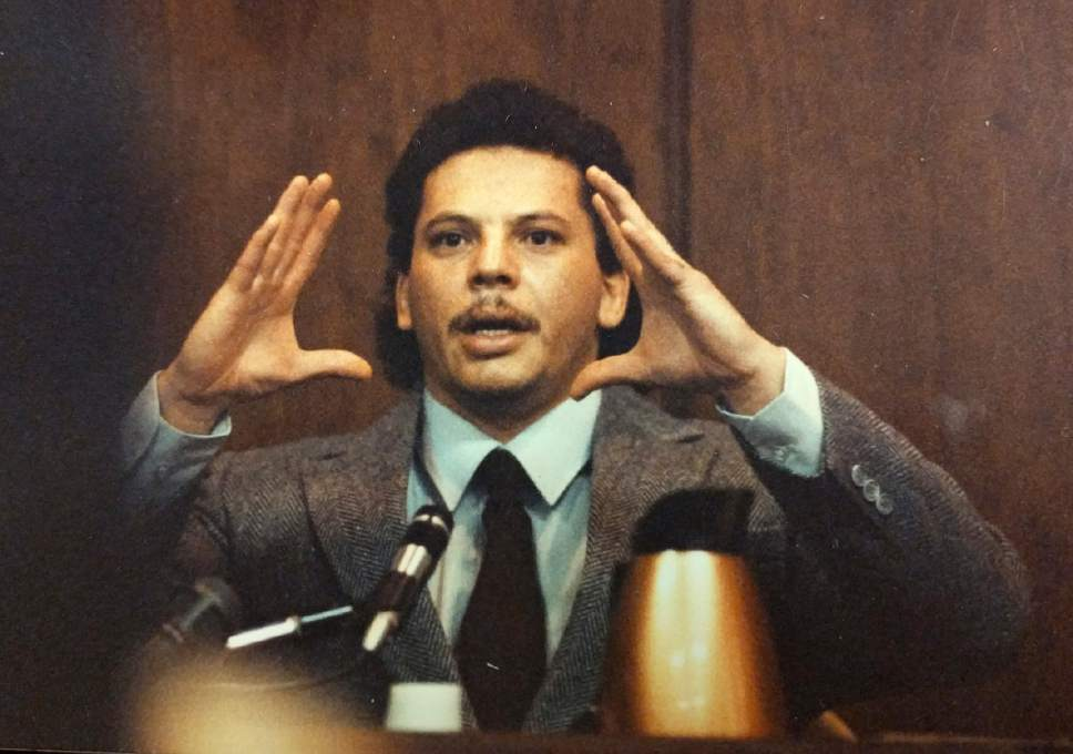 Tribune file photo  Michael Anthony Archuleta was convicted of murder in Southern Utah University student Gordon Church's 1988 killing.