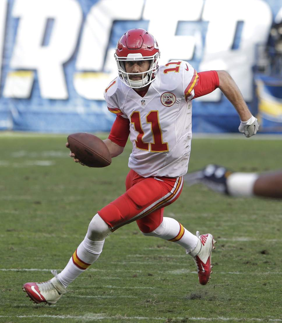 San Diego Chargers Chiefs Game: NFL: Playoff Alex Smith Different From Regular-Season Alex