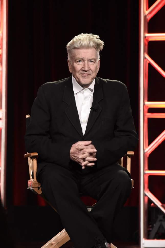 Dan Steinberg  |  Showtime  David Lynch at the TCA winter press tour in Pasadena, Calif.