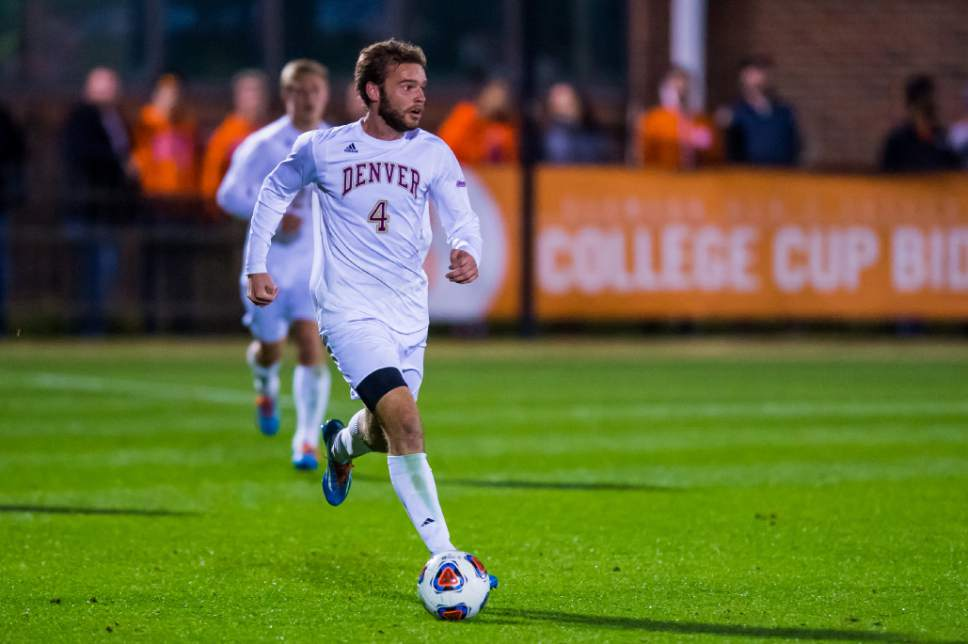|  courtesy David Grooms  Denver right back Reagan Dunk was selected No. 13 overall by Real Salt Lake in the 2017 MLS SuperDraft Friday in Los Angeles, Calif.