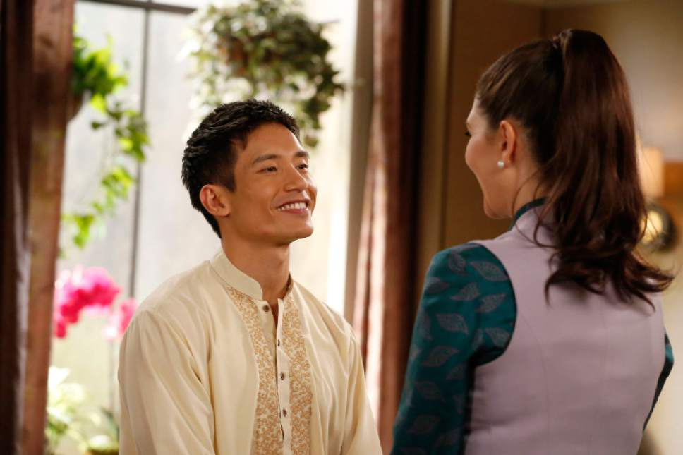 "Manny Jacinto stars as Jianyu/Jason in ""The Good Place."" Vivian Zink  