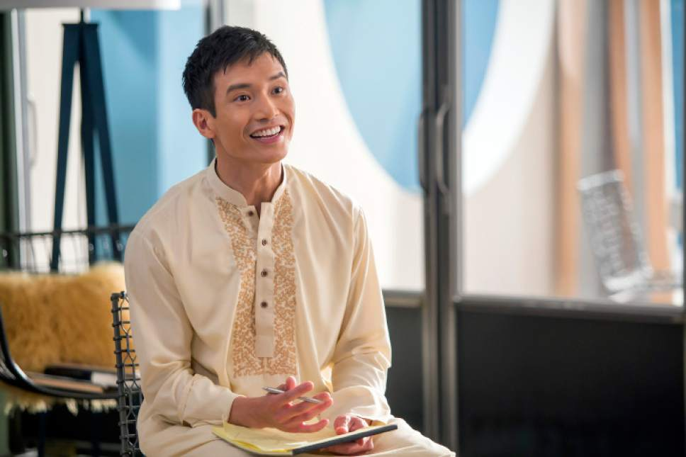 Manny Jacinto as Jianyu/Jason in ìThe Good Place.î Ron Batzdorff  |  NBC