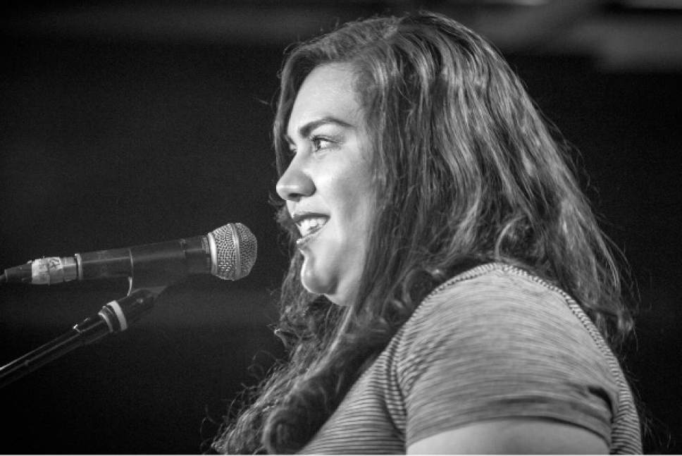 """Martha Castillo is one of six women who will share stories from their working lives in """"Women's Work,"""" a curated event organized by The Bee: True Stories from the Hive on Friday, Jan. 13, at the Utah Museum of Contemporary Art. Courtesy Anna Pocaro  