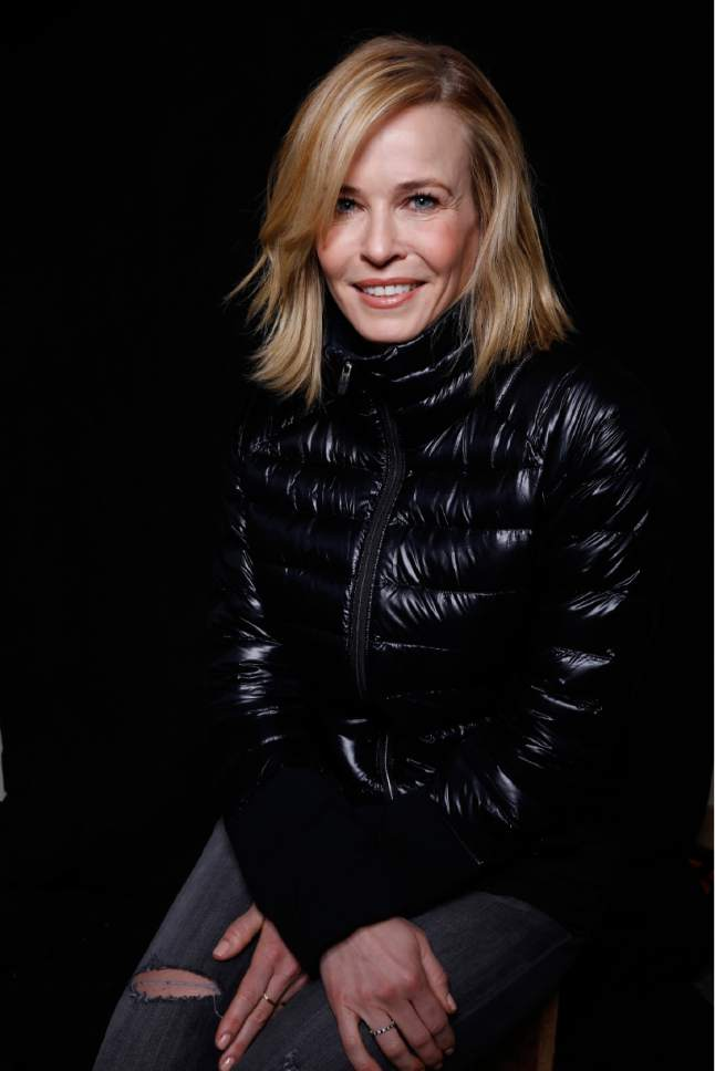 "Chelsea Handler poses for a portrait to promote the film, ""Chelsea Does"", at the Toyota Mirai Music Lodge during the Sundance Film Festival on Friday, Jan. 22, 2016 in Park City, Utah. (Photo by Matt Sayles/Invision/AP)"