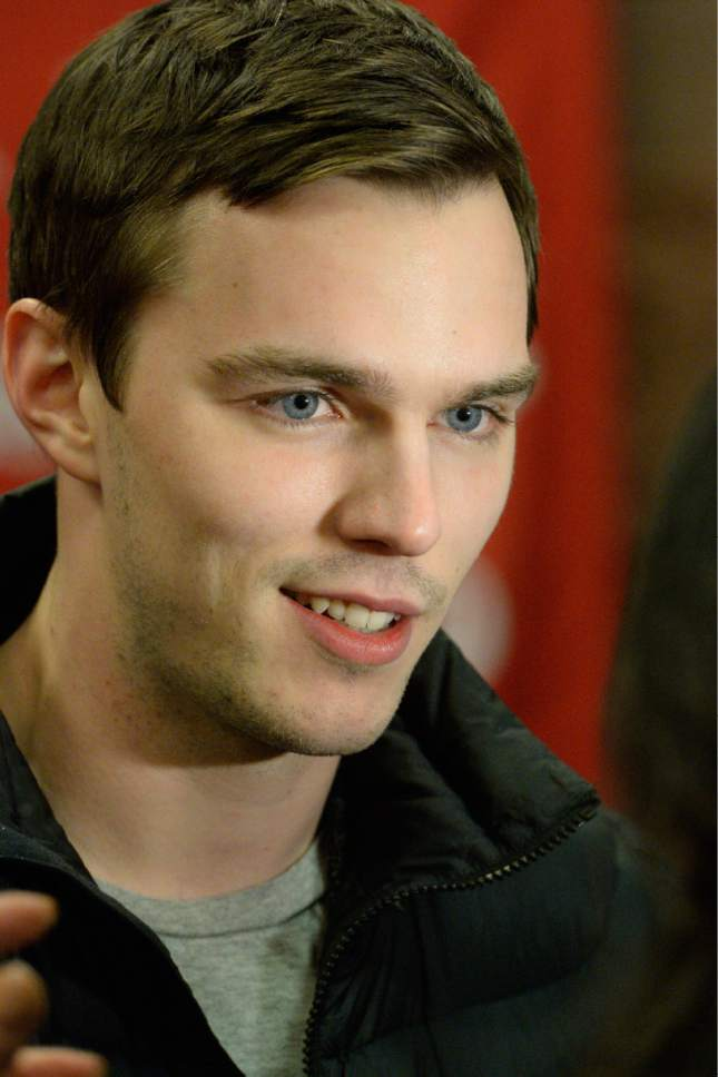 "Rick Egan  | The Salt Lake Tribune   Nicholas Hoult, at the Eccles Theatre for the premiere of the film ""Young Ones,"" at the Sundance Film Festival, in Park City, Saturday, Jan. 18, 2014."