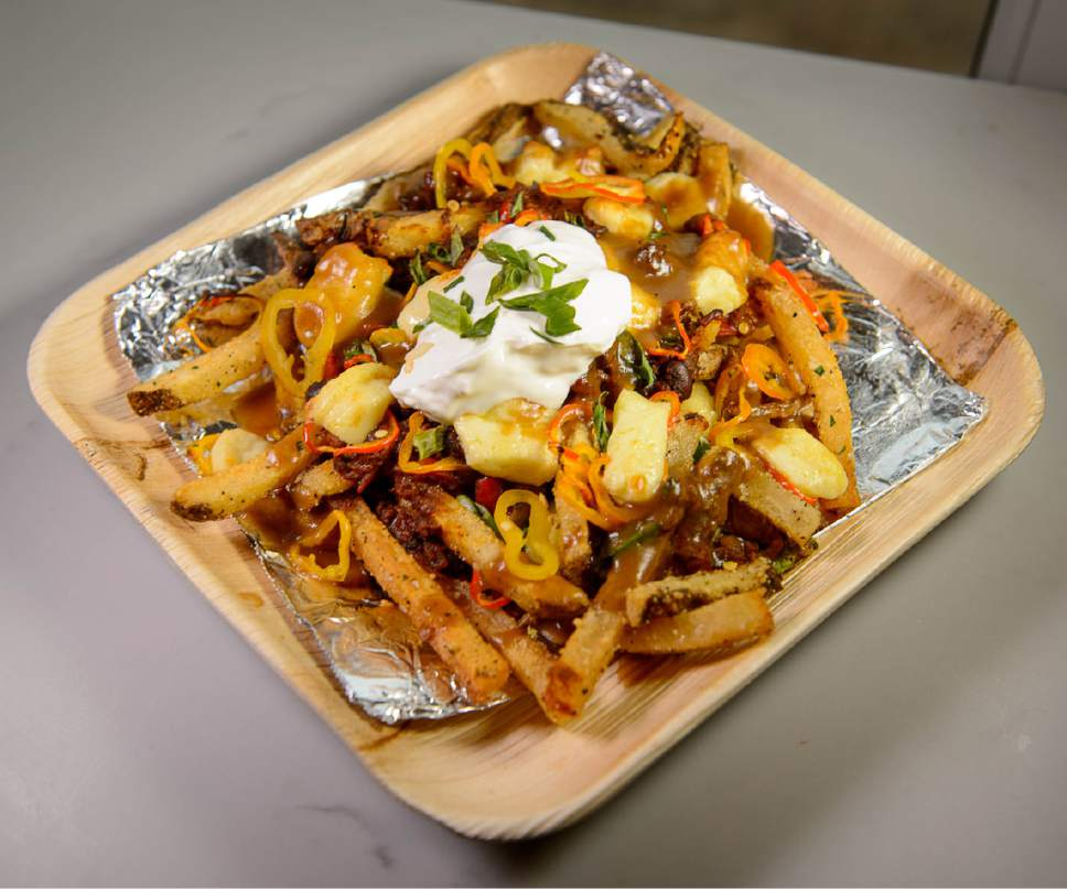 Trent Nelson  |  The Salt Lake Tribune The Wild One, poutine at Riverhorse Provisions in Park City.