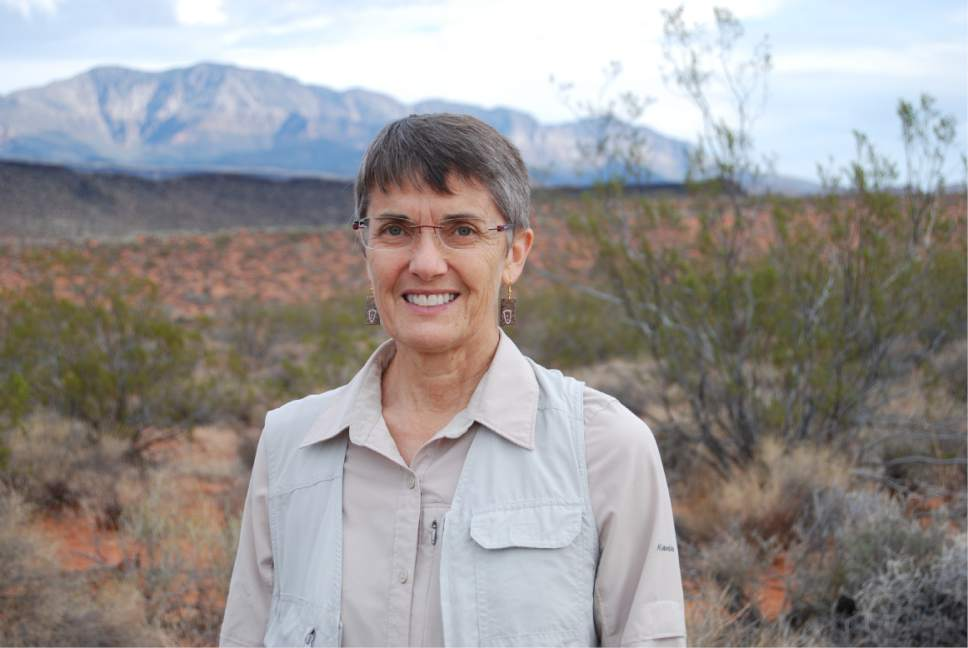 Brian Maffly  |  The Salt Lake Tribune   Susan Crook, public lands conservation program manager with Citizens for Dixie's Future
