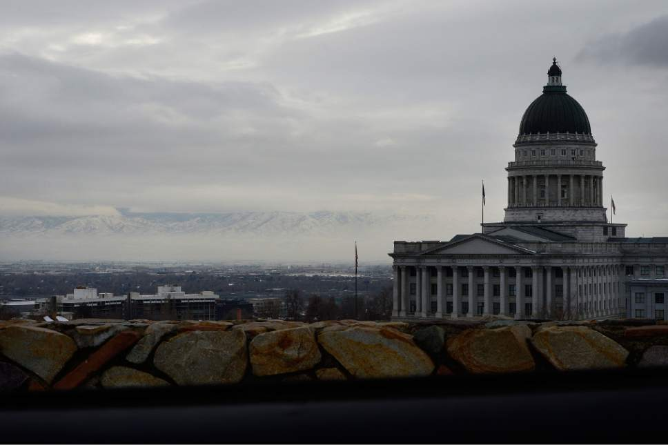 Scott Sommerdorf       Tribune file photo Looking south west from the Avenues past the Utah State Capitol building, Wednesday, January 6, 2016.
