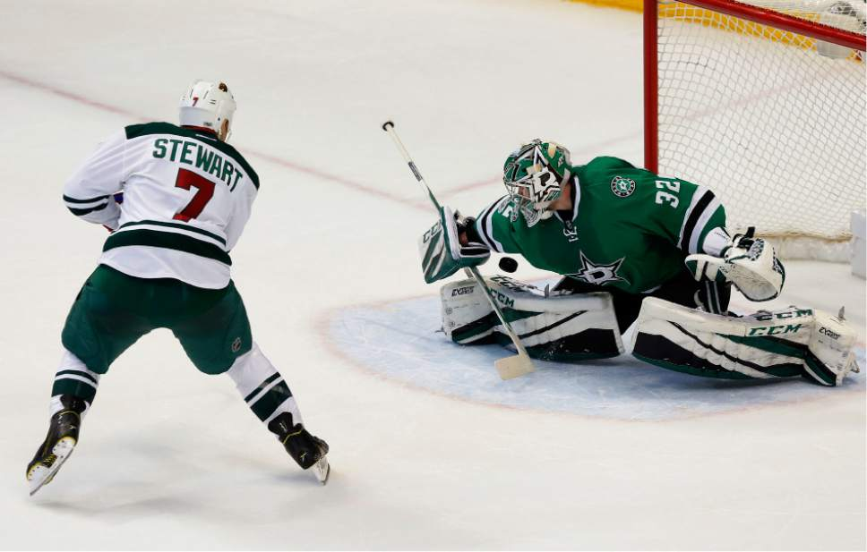 newest 581ae 1d2e9 NHL: Stewart lifts Wild over Stars in shootout - The Salt ...