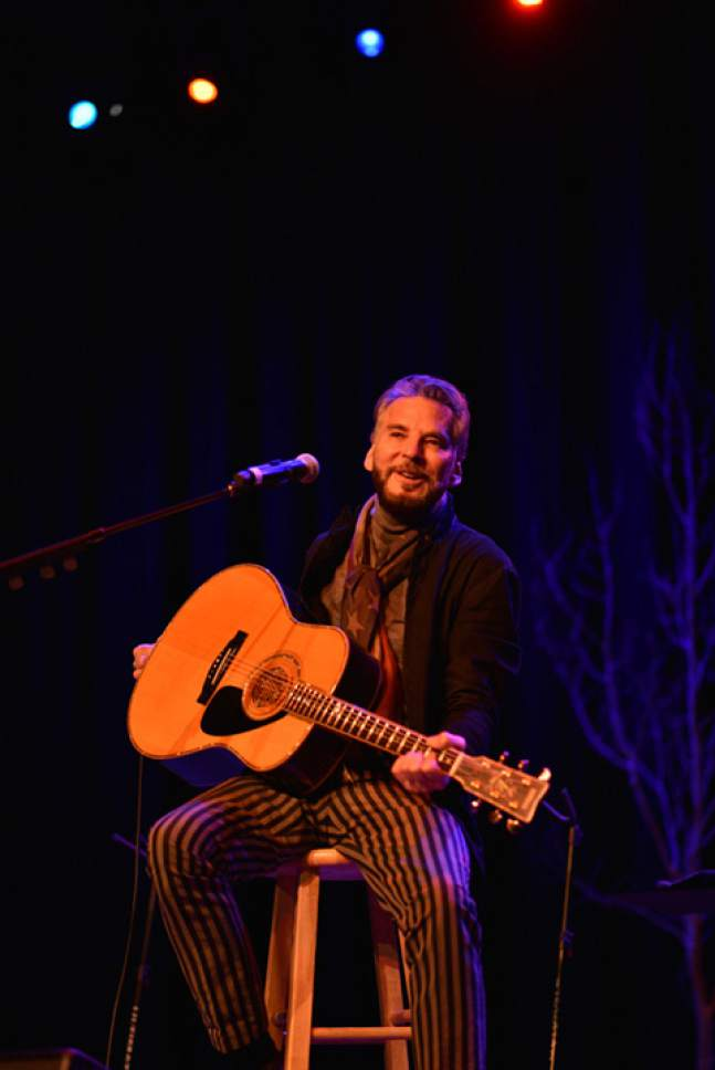 "Singer Kenny Loggins performed for the crowd attending ""An Artist at the Table"" fundraising dinner in Kamas. Courtesy  