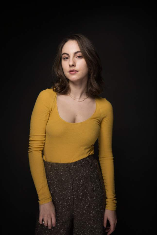 "Actress Madeline Weinstein poses for a portrait to promote the film, ""Beach Rats"", at the Music Lodge during the Sundance Film Festival on Monday, Jan. 23, 2017, in Park City, Utah. (Photo by Taylor Jewell/Invision/AP)"