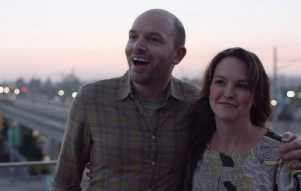 "Paul Scheer and Carla Gallo appear in ""Playdates"" by Giles Andrew, Dan Marshall, Alex Bourne and Brett Simon, an official selection of the 2017 Sundance Film Festival. Courtesy  