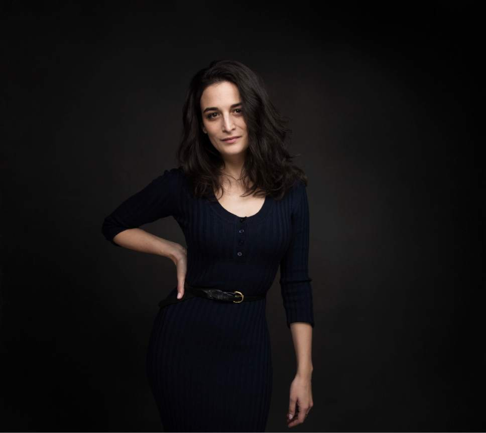 """Actress Jenny Slate poses for a portrait to promote the film, """"The Polka King"""", at the Music Lodge during the Sundance Film Festival on Sunday, Jan. 22, 2017, in Park City, Utah. (Photo by Taylor Jewell/Invision/AP)"""