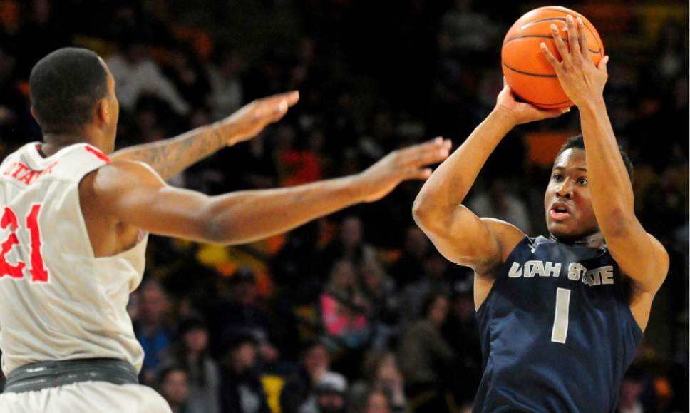 Utah State men's basketball: McEwen, Moore led Aggies by ...