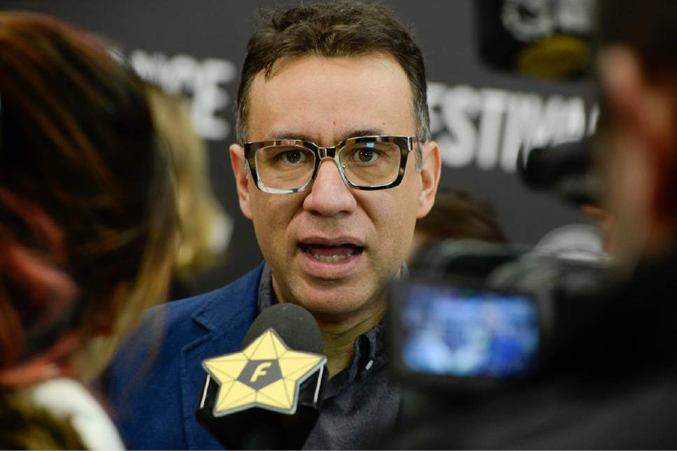 Francisco Kjolseth | The Salt Lake Tribune Fred Armisen attends the premiere of ìBand Aid,î at the Eccles Theatre as part of 2017 Sundance Film Festival in Park City on Tuesday, Jan. 24, 2017.