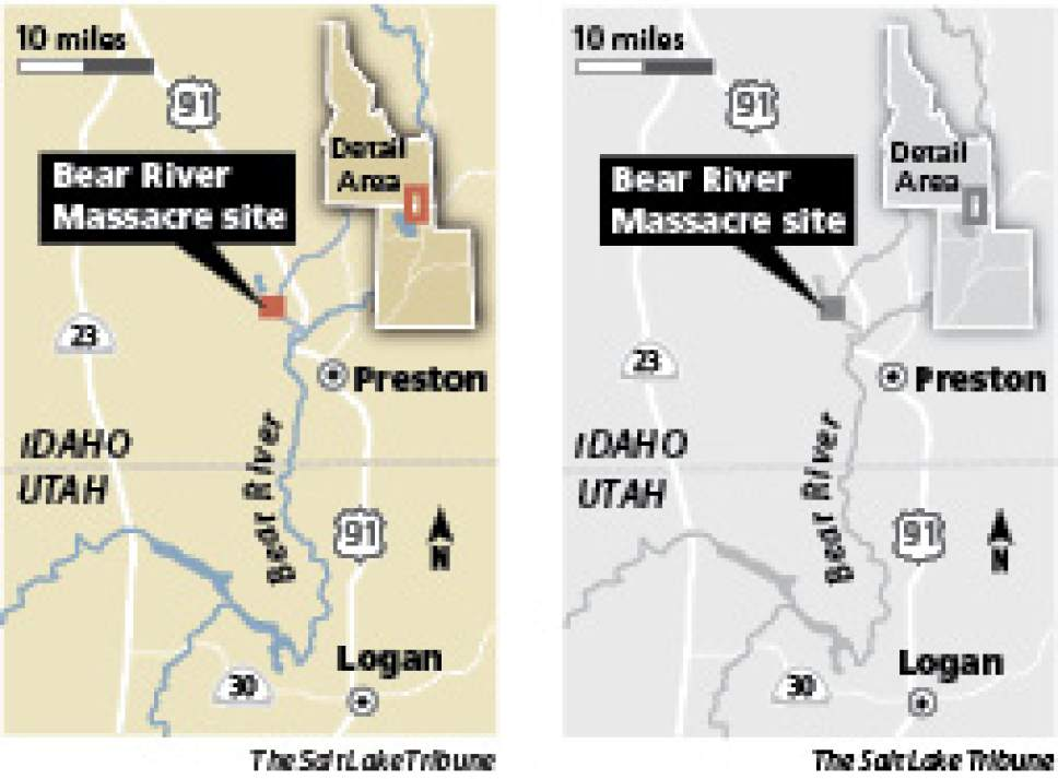 The Bear River Massacre, where hundreds of Shoshone Indians died in a fierce battle with the U.S. calvary in January 1863, marked its 150th year in ceremonies on Tuesday.Ceremony marks massacres's 150th