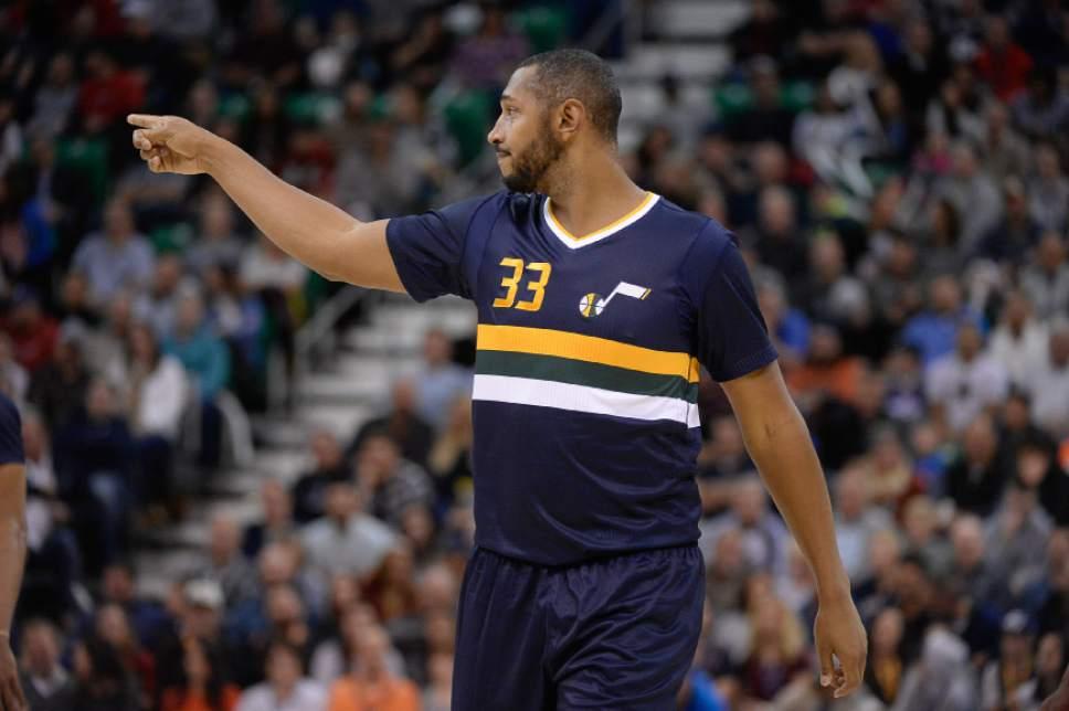 ... Finals BlackGold Jersey Francisco Kjolseth The Salt Lake Tribune Utah  Jazz center Boris Diaw (33) cheers Boris Diaw 33 - San Antonio Spurs ... 9fb53a66e