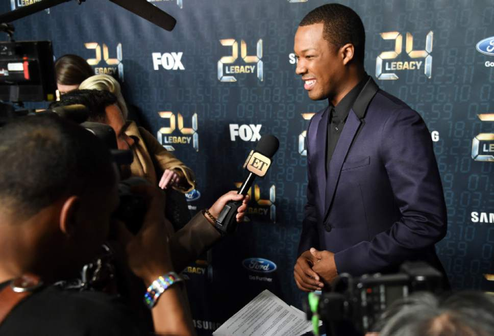 "Actor Corey Hawkins attends the season premiere of ""24: Legacy"" at Spring Studios on Monday, Jan. 30, 2017, in New York. (Photo by Evan Agostini/Invision/AP)"