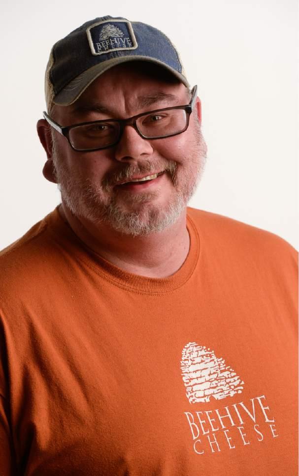 Francisco Kjolseth | The Salt Lake Tribune Steffan Christensen, cheesemaker at Beehive Cheese Co.