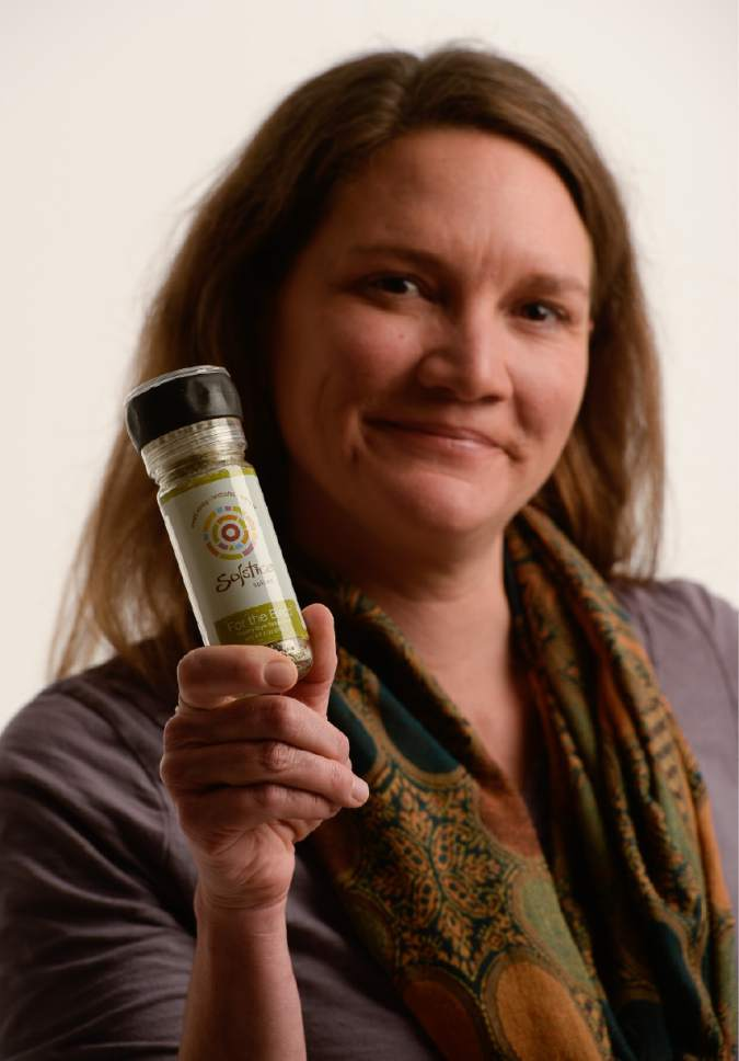 Francisco Kjolseth | The Salt Lake Tribune Heather Peeters, owner Solstice Spices.