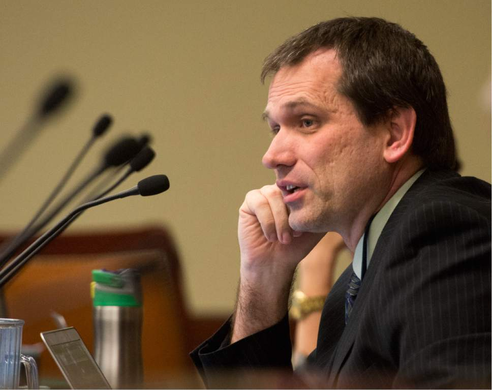 Rick Egan  |   Tribune file photo  Rep. Ray Ward, R-Bountiful, a physician, is sponsoring a measure he hopes will ween Utah off opioid painkillers.