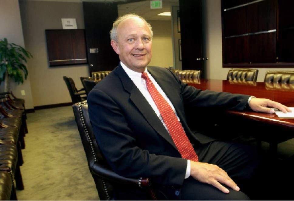 Lane Beattie • Salt Lake Chamber of Commerce president