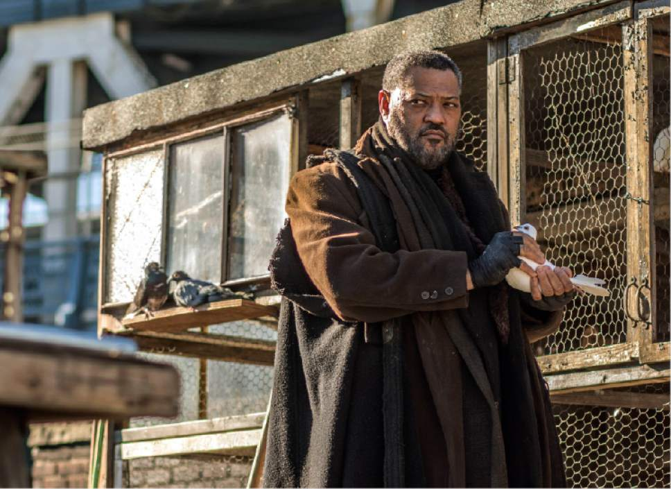 """This image released by Lionsgate shows Laurence Fishburne in a scene from, """"John Wick: Chapter 2."""" (Niko Tavernise/Lionsgate via AP)"""
