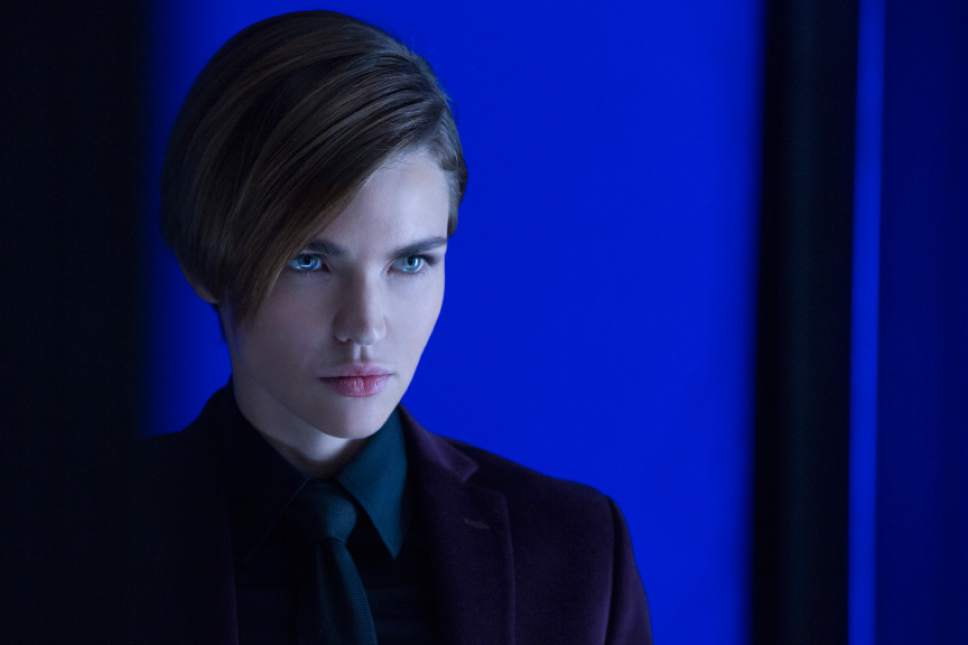 """This image released by Lionsgate shows Ruby Rose in a scene from, """"John Wick: Chapter 2."""" (Niko Tavernise/Lionsgate via AP)"""