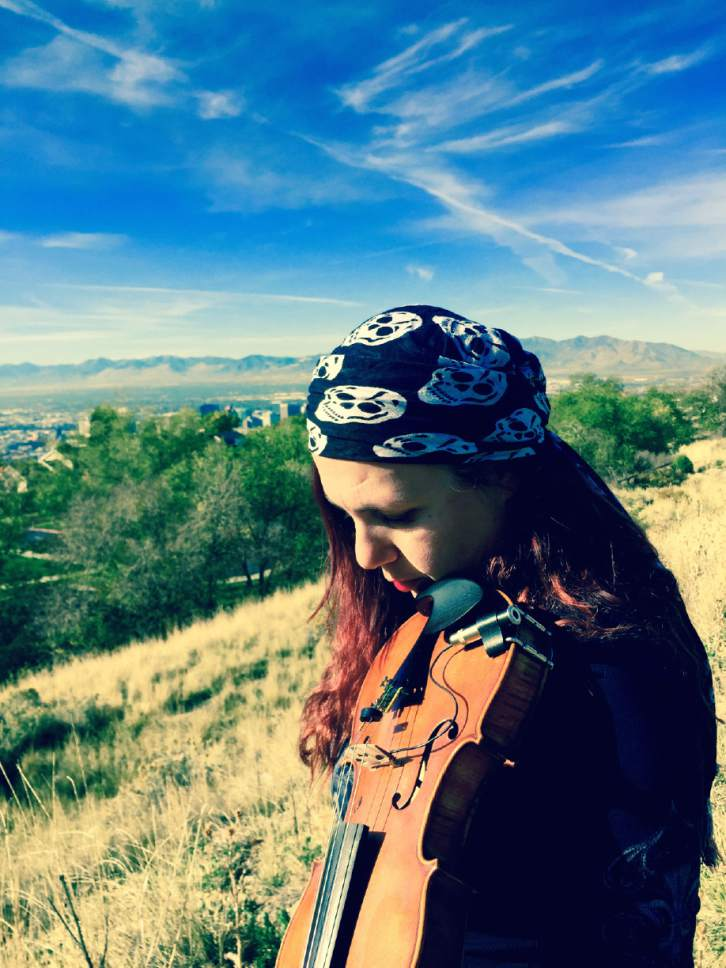 Courtesy photo  Gypsy trip-hop act Katya Murafa, who was part of the Salt Lake Festival CafÈ series during Sundance, will be performing Tuesday, Feb. 14 at BTG Wine Bar in Salt Lake City.