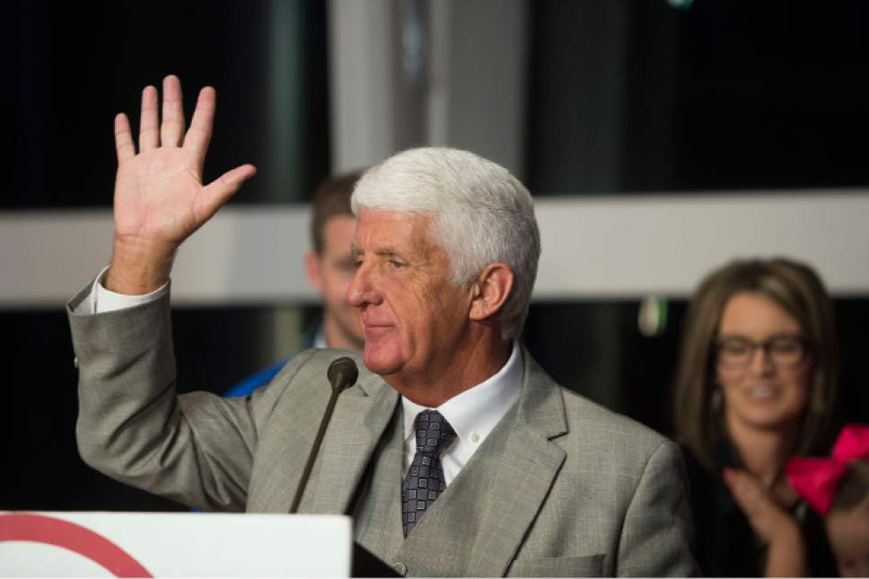 Steve Griffin | Tribune file photo   Rep. Rob Bishop, R-Utah, visited the Utah Legislature on Friday.