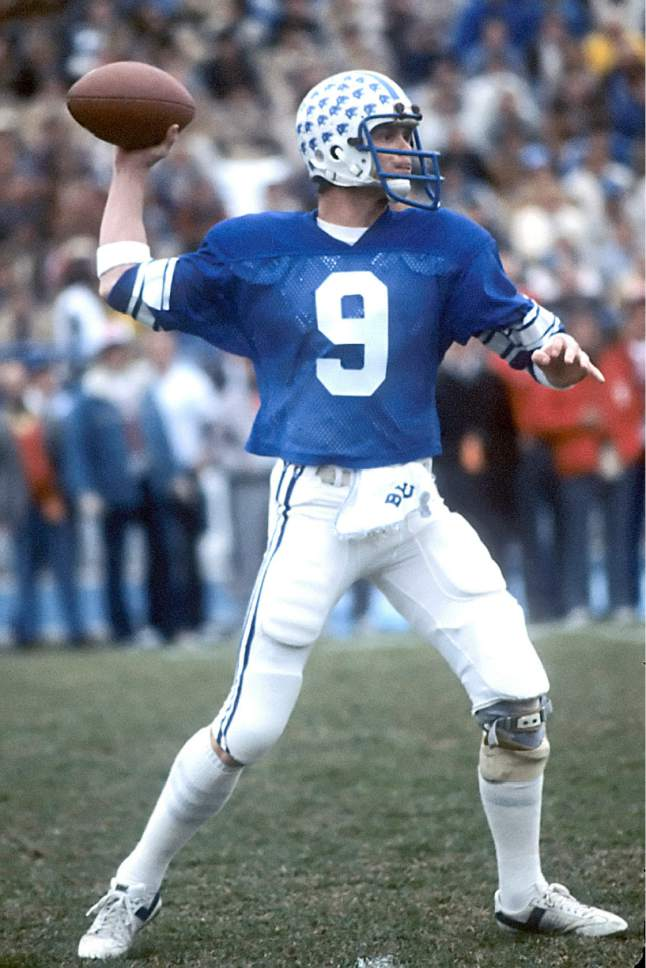 Mark Philbrick  |  BYU  Jim McMahon is seen in this photo from Nov. 1981.