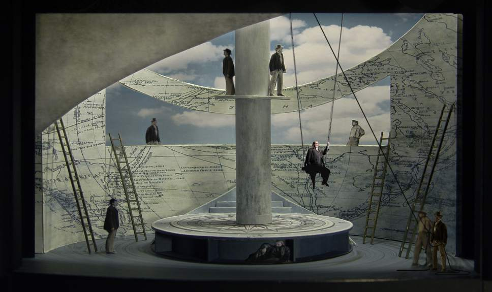 """Courtesy photo  A costume rendering for Captain Ahab for Jake Heggie's """"Moby-Dick,"""" which Utah Opera will perform in January 2018 as part of its 40th-anniversary season."""