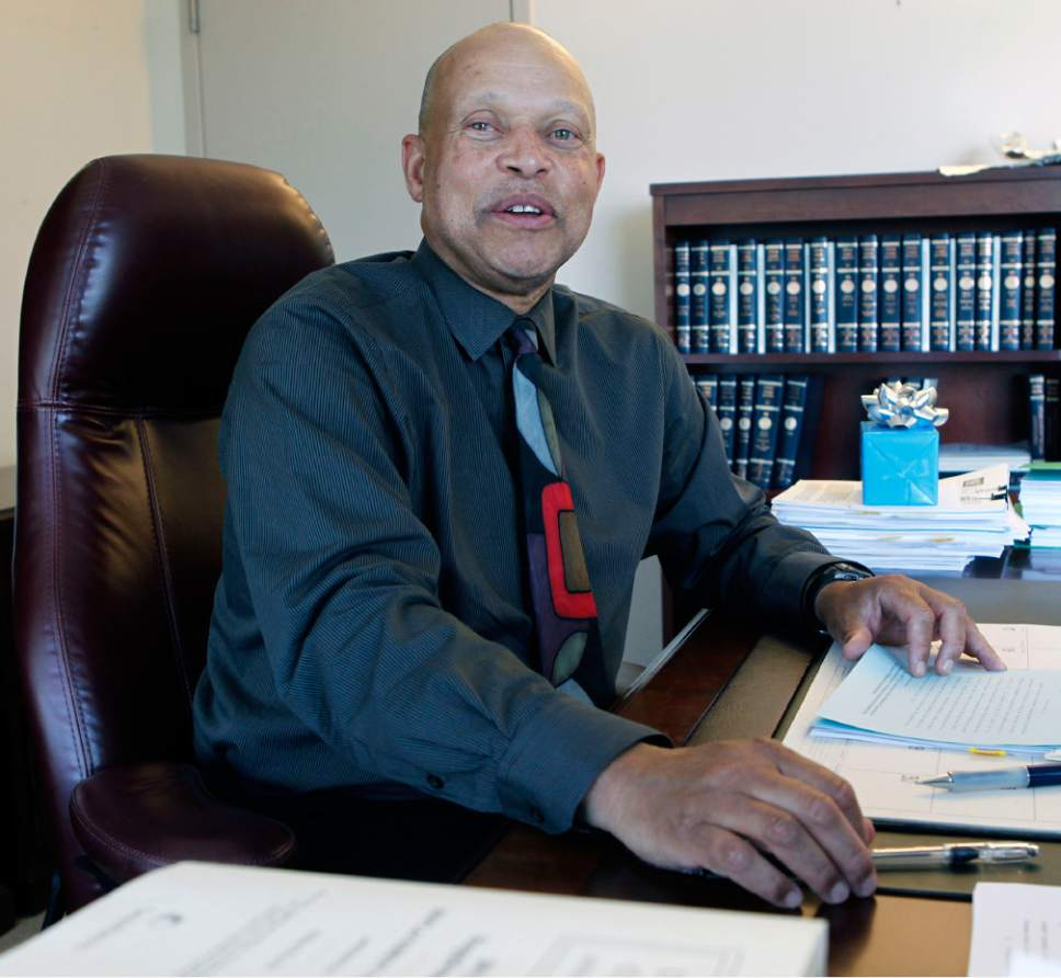 Al Hartmann  |  Tribune file photo Utah's first black Judge Tyrone Medley retired from the 3rd District Court in 2012.