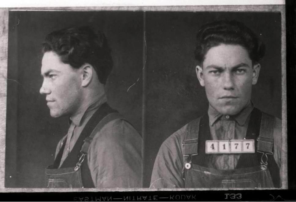 photo courtesy Utah Historical Society  Aylett Farr, 1939.