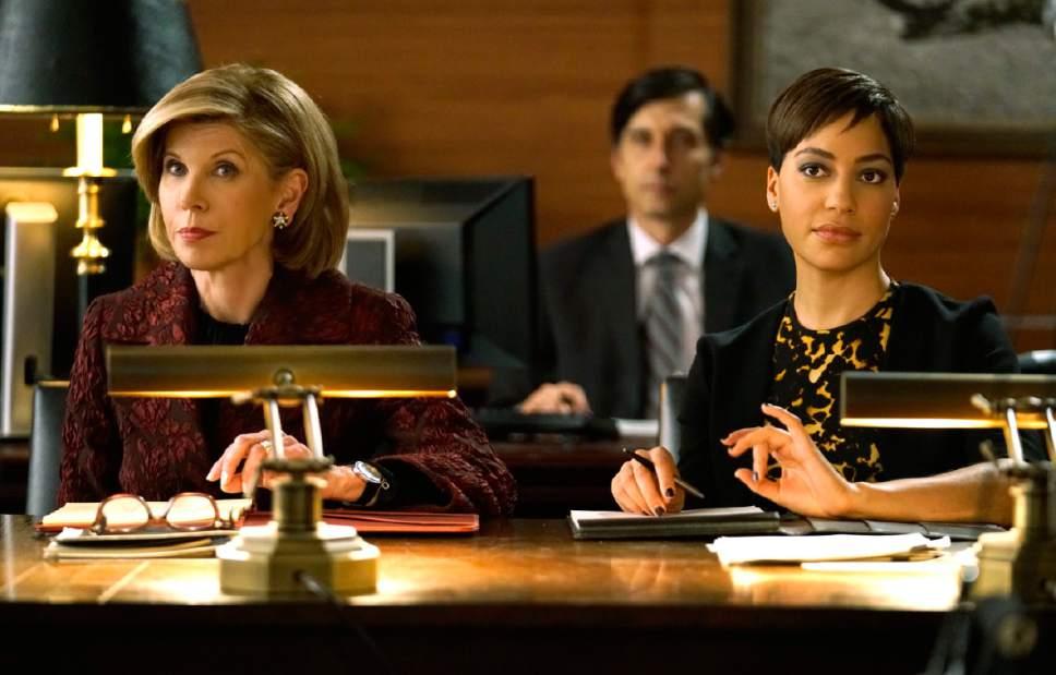 Christine Baranski as Diane Lockhart and Cush Jumbo as Lucca Quin in ìThe Good Fight.î Courtesy  |  Patrick Harbron, CBS