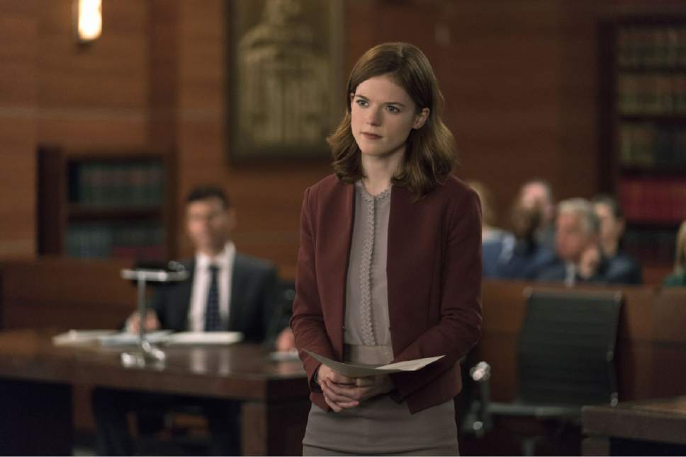 "Rose Leslie as Maia Rindel in ""The Good Fight."" Courtesy  