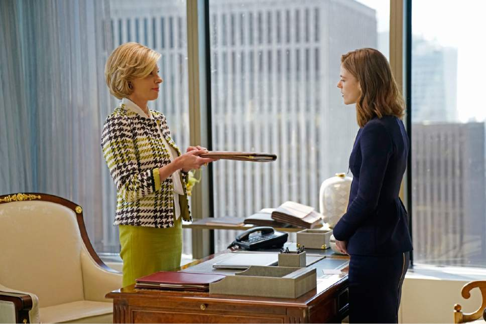 "Christine Baranski as Diane Lockhart and Rose Leslie as Maia Rindell in ""The Good Fight."" Courtesy  