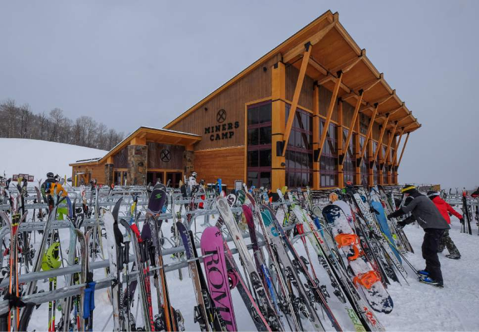 Tribune file photo by Francisco Kjolseth | The Salt Lake Tribune Vail Resort's $50 million acquisition of Stowe Mountain Resort in Vermont is expected to bring more skiers from New England and New York to Park City Resort and facilities like the new Miners Camp restaurant.
