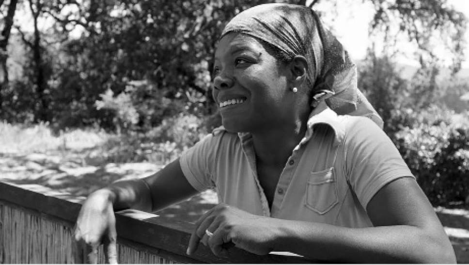 """A scene from the documentary """"Maya Angelou And Still I Rise,"""" which is premiereing at the 2016 Sundance Film Festival. Courtesy Sundance Film Festival"""