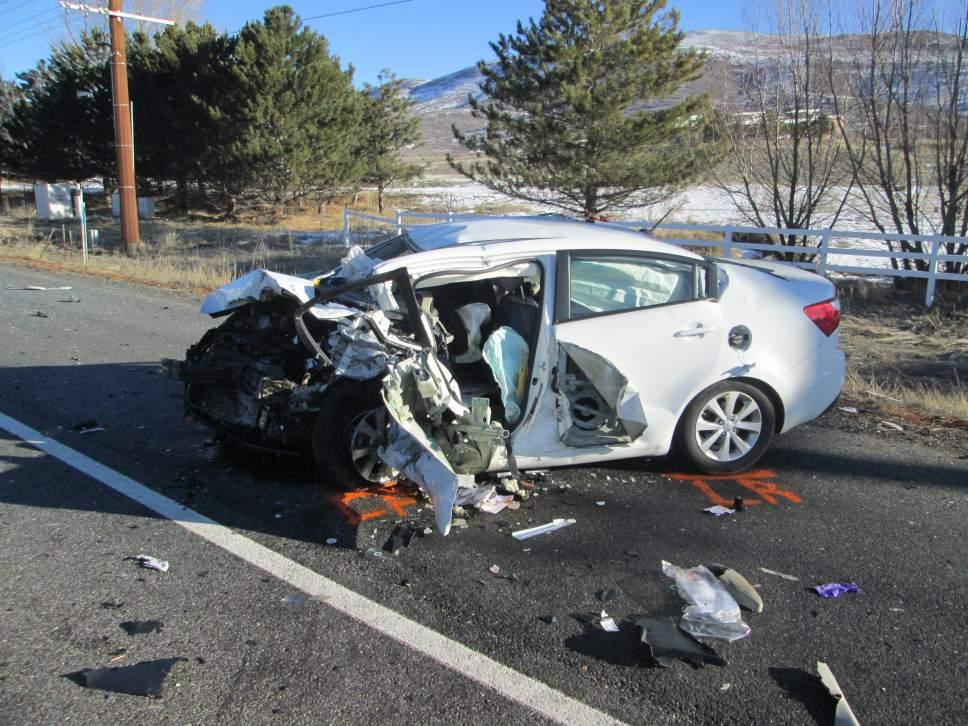 Car Accident In Payson Utah