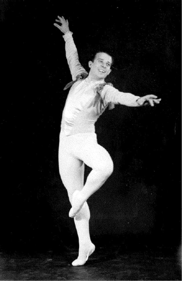 Courtesy photo  Rowland Millar Butler, was one of the founding dancers at Utah Civic Ballet, the company that grew into Ballet West.