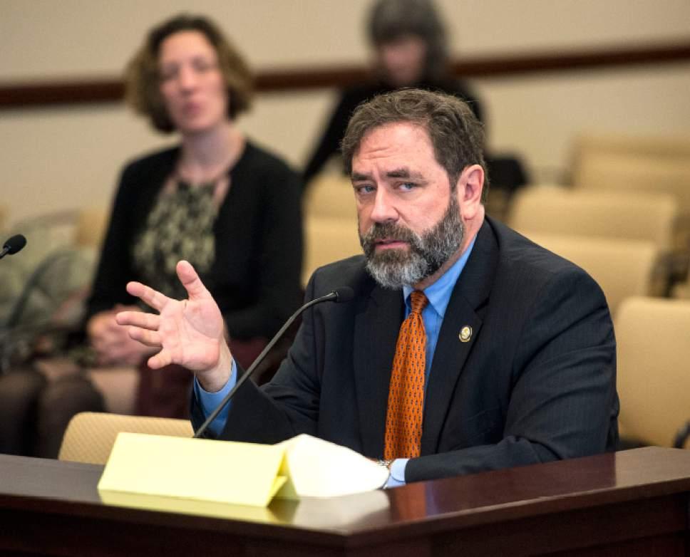 Steve Griffin  |  The Salt Lake Tribune Brian King ï D-Salt Lake City, House Minority Leader