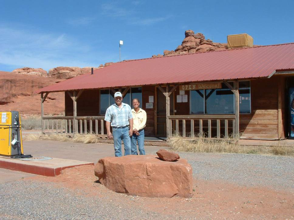 |  Courtesy of Needles Outpost  Tracey Napoleone and Gary Knecht have run The Needles Outpost near Canyonlands National Park for 12 years. But now, the Utah School & Institutional Trust Lands Administration wants to increase their lease payments 360 percent.