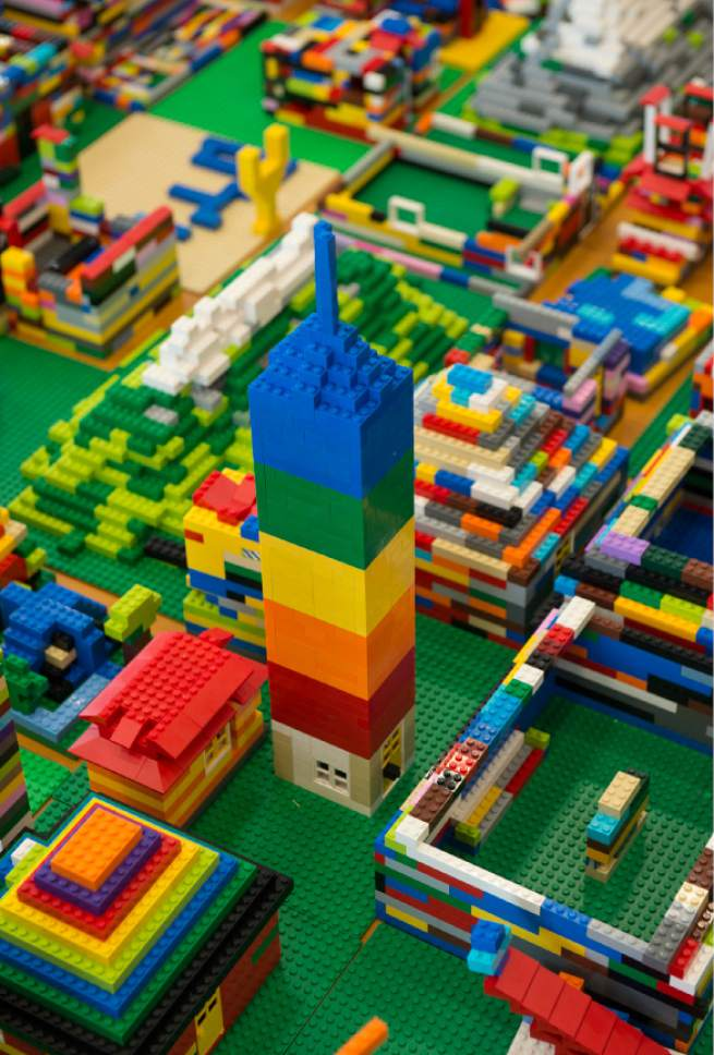 Gallery: Kids use LEGOs to build their own Salt Lake County - The ...