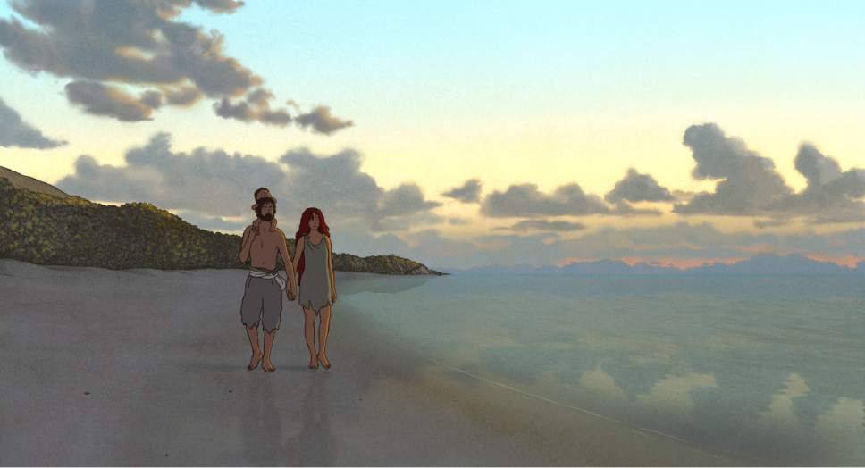 "|  courtesy Sony Pictures Classics  A castaway becomes part of a family, in the animated fable ""The Red Turtle."""