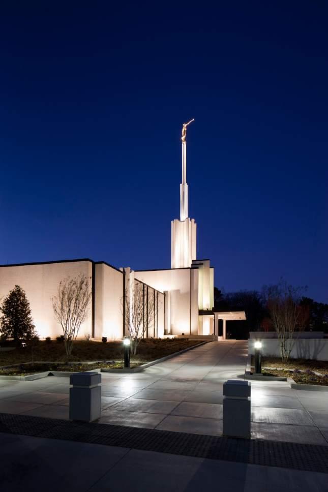 Courtesy  |  LDS Newsroom  The Atlanta, Ga., LDS temple.