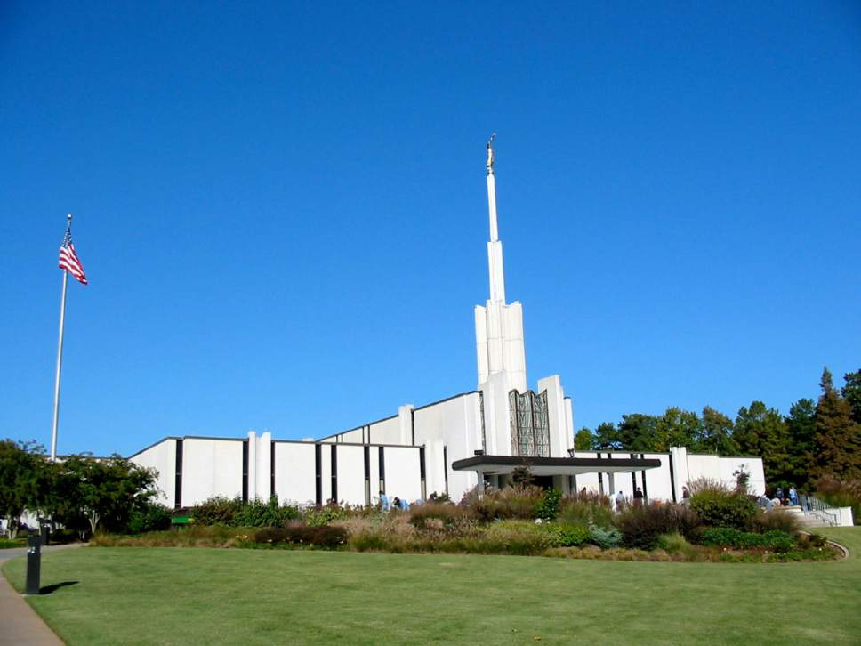 Courtesy  |  LDS Newsroom  The Atlanta, Ga., LDS temple.
